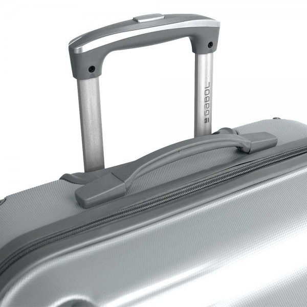 Gabol Balance Trolley Large 76 silver Harde Koffer van ABS