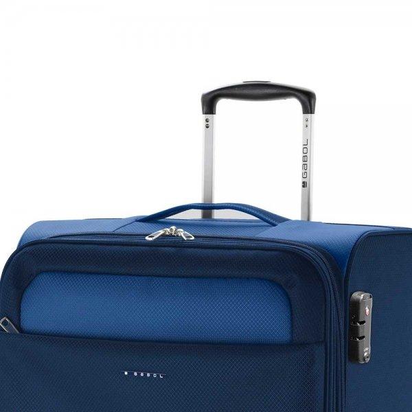 Gabol Cloud Trolley Large 79 blue Zachte koffer