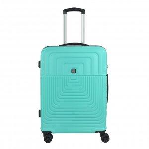 Gabol Ego Medium Trolley 66 turquoise Harde Koffer