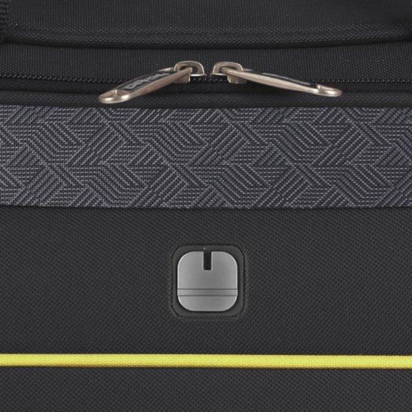 Gabol Giro Flight Bag black Weekendtas van Polyester