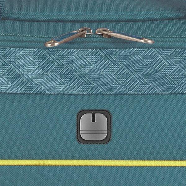 Gabol Giro Flight Bag turquoise Weekendtas van Polyester