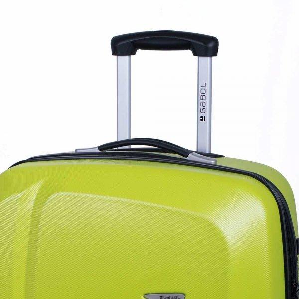 Gabol Line Trolley Large 76 pistachio green Harde Koffer van ABS