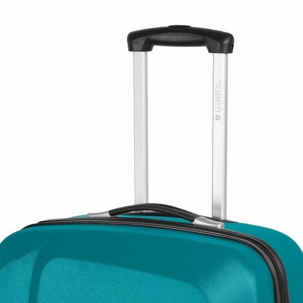 Gabol Line Trolley Large 76 turquoise Harde Koffer van ABS