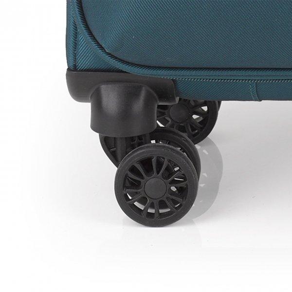 Gabol Mailer Large Trolley 78 Exp. turquoise Zachte koffer van Polyester
