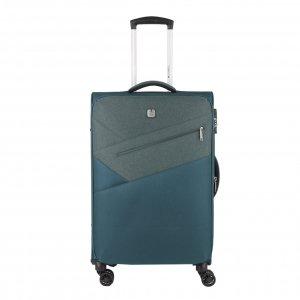 Gabol Mailer Medium Trolley 67 Exp. turquoise Zachte koffer