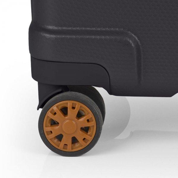 Gabol Mosaic 4 Wiel Trolley M grey Harde Koffer van ABS