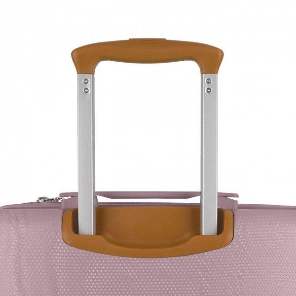 Gabol Mosaic Cabin Trolley S pink Harde Koffer van ABS