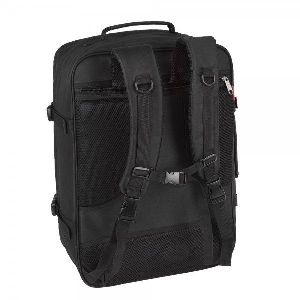 Gabol Week Cabin Backpack black Weekendtas van Polyester