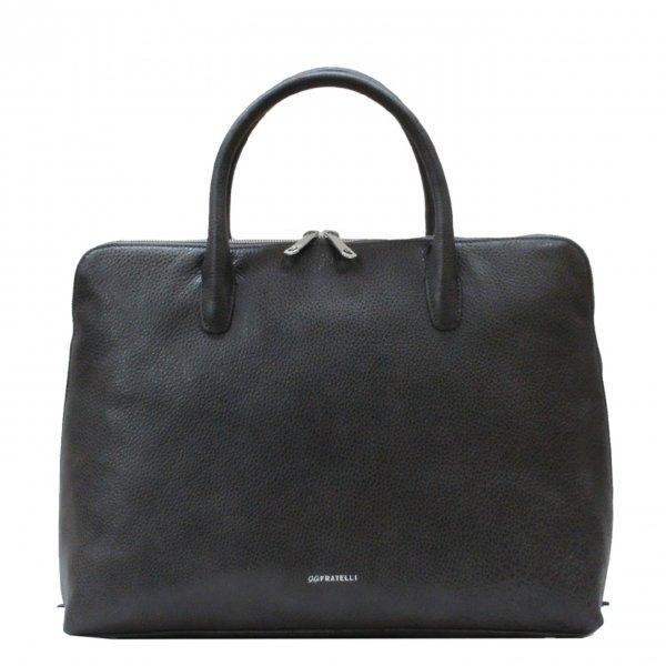 Gigi Fratelli Romance A4 laptop bag smoke