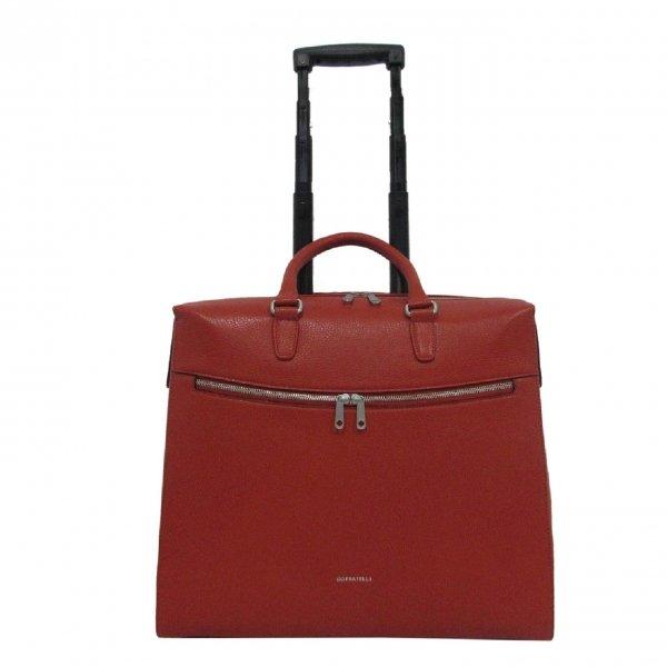 "Gigi Fratelli Romance Lady business trolley 15.6"" orange Zakelijke koffer"