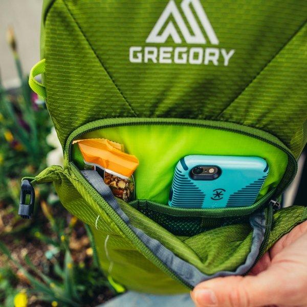 Gregory Nano Backpack 20L eclipse black backpack van Nylon