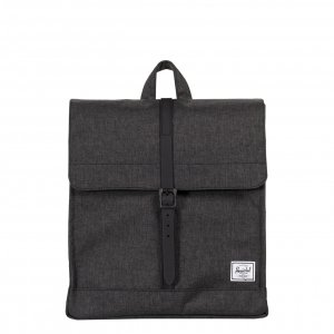 Herschel Supply Co. City Mid-Volume Rugzak black crosshatch/black Rugzak