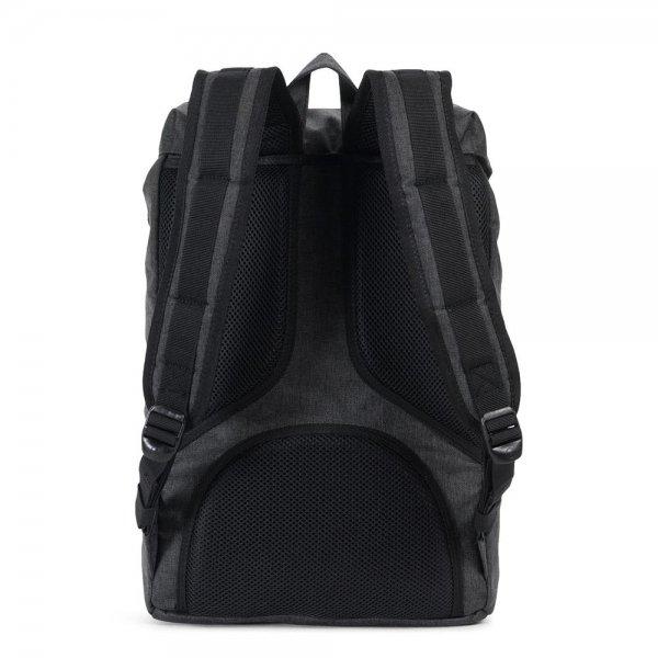 Herschel Supply Co. Little America Mid-Volume Rugzak black crosshatch/black backpack van Polyester