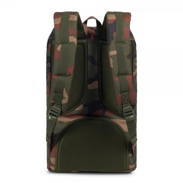 Herschel Supply Co. Little America Rugzak woodland camo backpack van Polyester