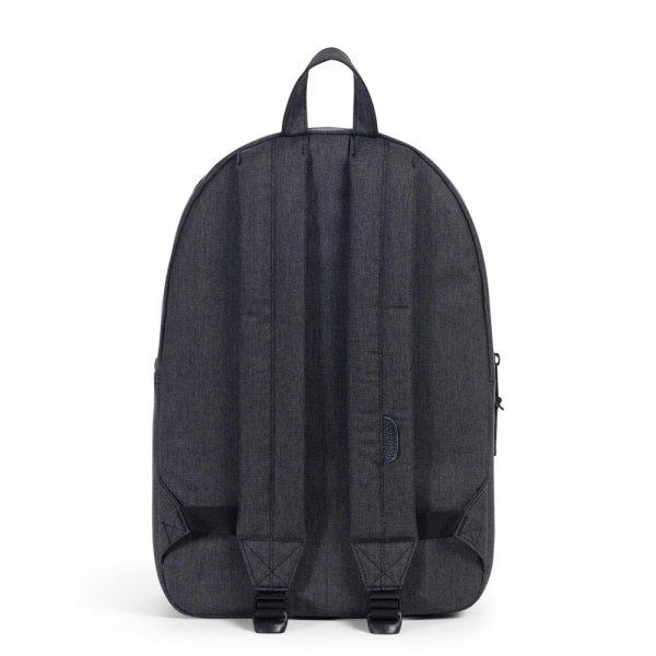Herschel Supply Co. Settlement Rugzak black crosshatch backpack van Polyester