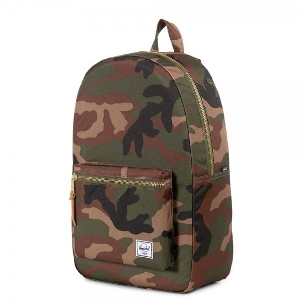 Herschel Supply Co. Settlement Rugzak woodland camo backpack van Polyester