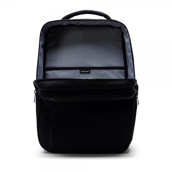 Herschel Supply Co. Travel Rugzak black backpack van Polyester