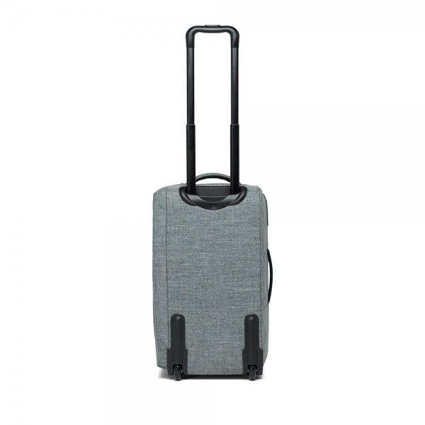 Herschel Supply Co. Wheelie Outfitter 50L Reistas raven crosshatch Handbagage koffer Trolley van Polyester