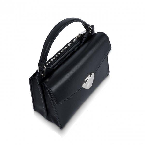 Inyati Zoey Top Handle Bag black Damestas van Vegan leer