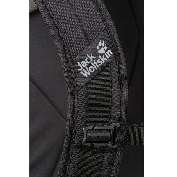 Jack Wolfskin Dayton Rugzak black backpack van Polyester
