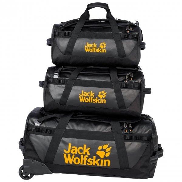Jack Wolfskin Expedition Trunk 30 black Weekendtas van Polyester