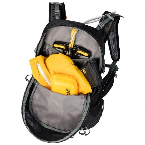 Jack Wolfskin Moab Jam 34 electric blue backpack van Polyester