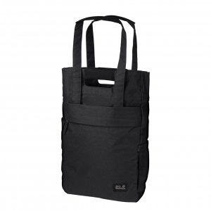 Jack Wolfskin Piccadilly Rugzak Shopper ultra black Damestas