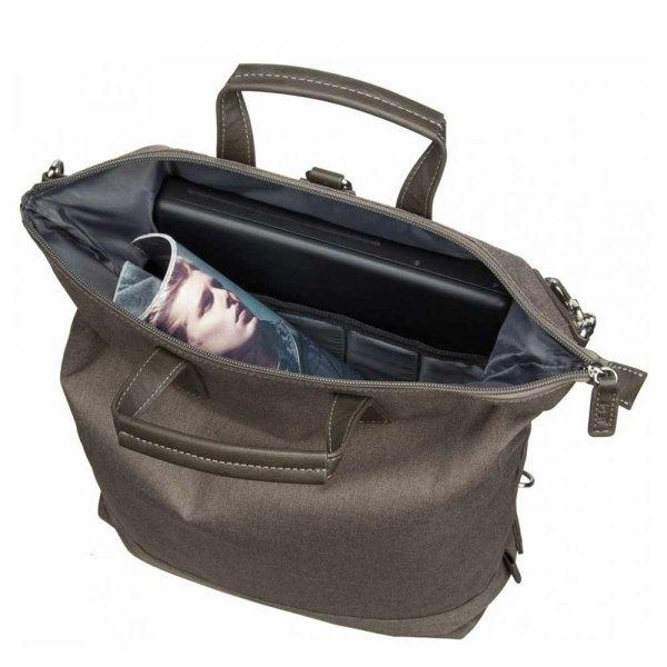 Jost Bergen XChange Bag S black backpack van Polyester
