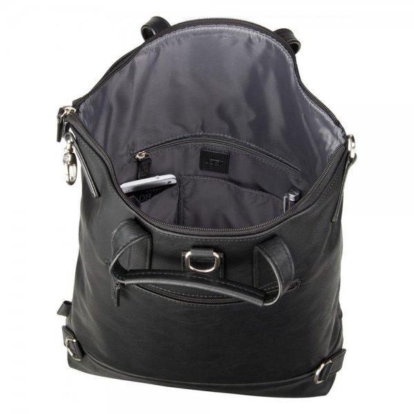 Jost Merritt XChange Bag S black Damestas van Imitatie leer