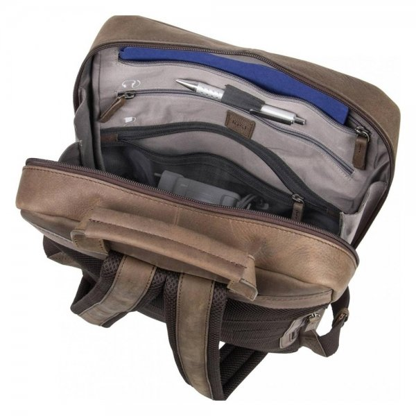Jost Salo Daypack black backpack van Leer
