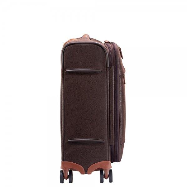 Jump Uppsala Trolley Expandable 55 chocolate Zachte koffer van Polyester