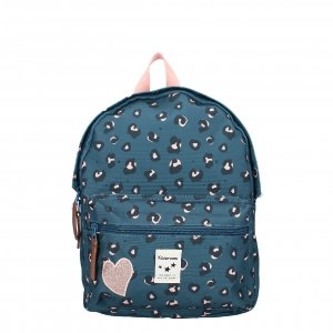 Kidzroom Attitude Backpack S blue backpack