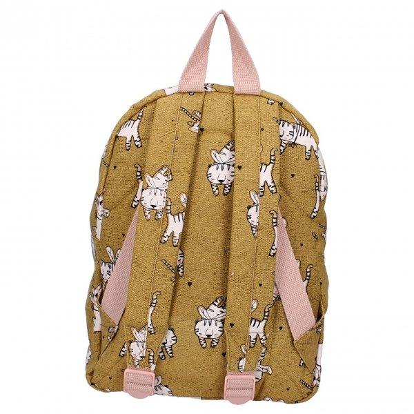 Kidzroom Dress Up Backpack tiger cognac van Polyester