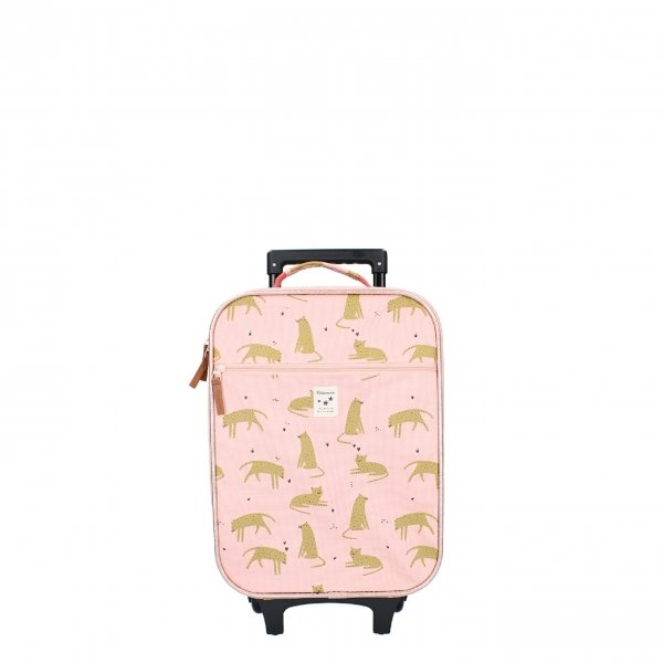 Kidzroom Trolley Koffer Cuddle pink Kinderkoffer