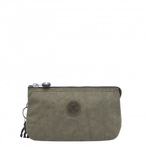 Kipling Creativity L Clutch green moss Damestas