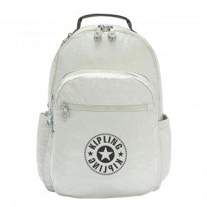 Kipling Seoul Rugzak BP RG dynamic silver backpack