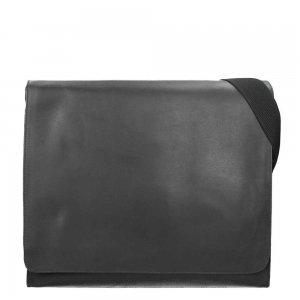 Leonhard Heyden Dakota Messenger Bag L black