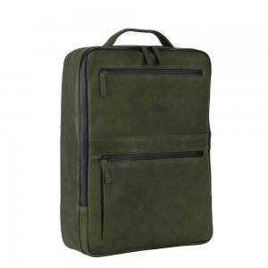 Leonhard Heyden Den Haag Backpack olive backpack