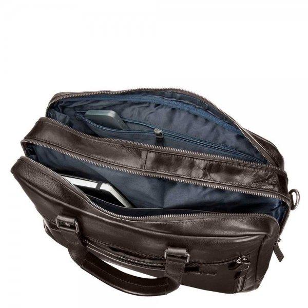 Leonhard Heyden Roma Tote Bag black van Leer