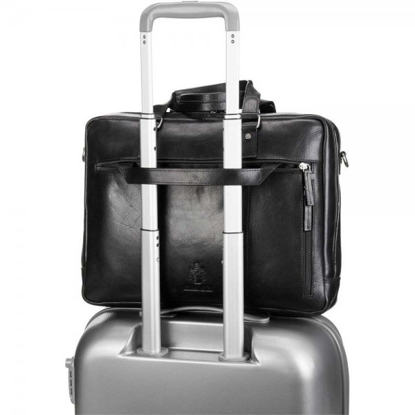 Leonhard Heyden Roma Tote Bag black
