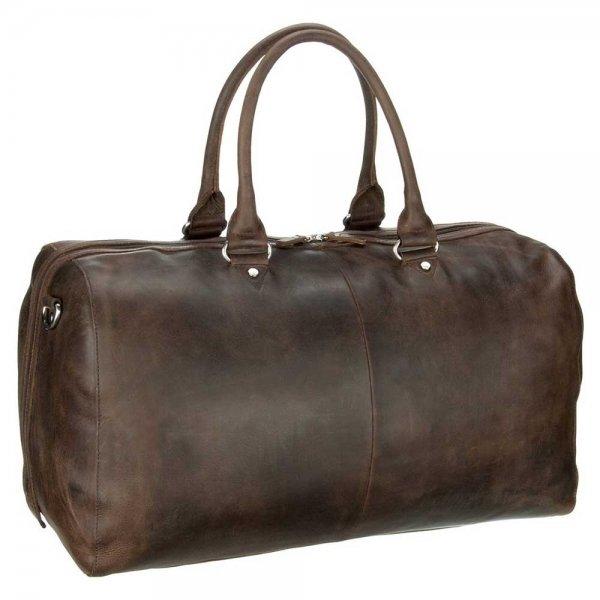 Leonhard Heyden Salisbury Travel Bag brown Weekendtas