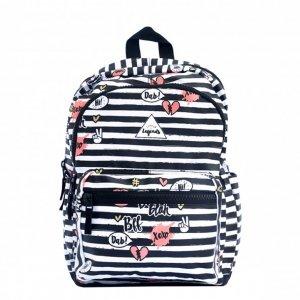 Little Legends BFF Backpack L zwart/wit/roze Kindertas