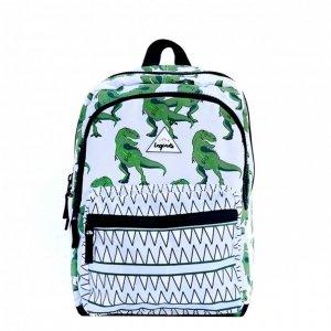Little Legends Dino Backpack L groen / wit Kindertas