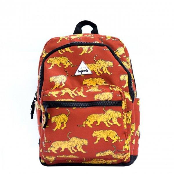Little Legends Tiger B Backpack L roestbruin Kindertas