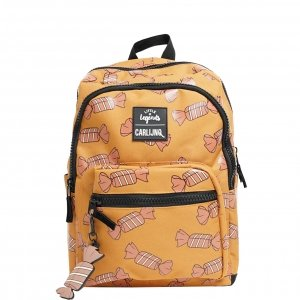 Little Legends x CarlijnQ Candy Backpack camel Kindertas
