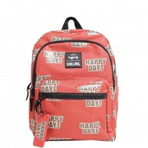 Little Legends x CarlijnQ Happy Days Backpack roestbruin/rood Kindertas