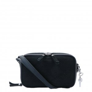 LouLou Essentiels Sugar Snake Pouch black Damestas