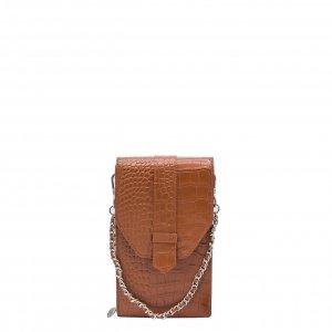 MOSZ Phone Bag Croco cognac Damestas