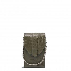 MOSZ Phone Bag Croco moss Damestas