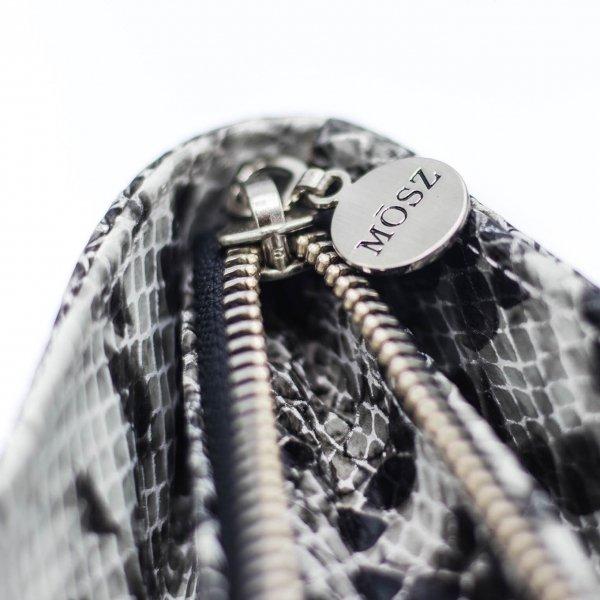 MOSZ Phone Bag Python black-grey Damestas van Leer